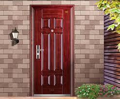 Dekorfóliás acél ajtó